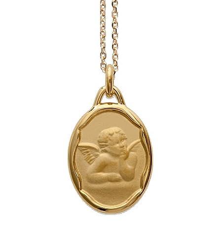 c5146047f7fa Ascalido - Medalla de nacimiento bañada en oro