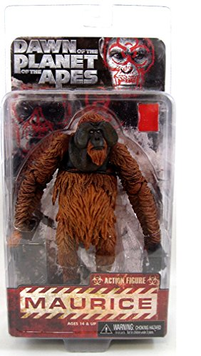 """Dawn of the Planet of the Apes - Maurice - 7"""" Scale Action Figure"""