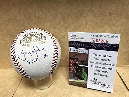 2003 All Star Baseball Ball - TONY LARUSSA ST LOUIS CARDINALS O6 SIGNED 2003 WORLD SERIES BASEBALL JSA K63205
