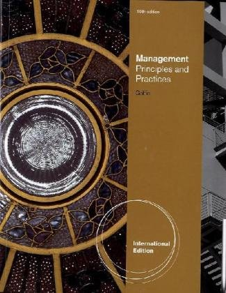 Management: Prinicples and Practices