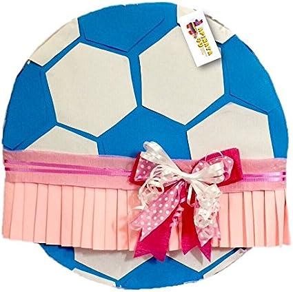 Gender Reveal Football with Tutu Pinata