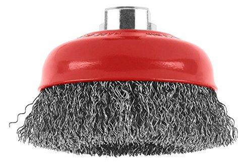 Bosch 1608614020 Brosse boisseau à fils laitonnés 70 mm 0, 3 mm M14 Bosch Professional