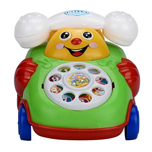 Hot Sale! Canserin Kids Cartoon Smile Phone Car Toys Gift Developmental Educational Toys