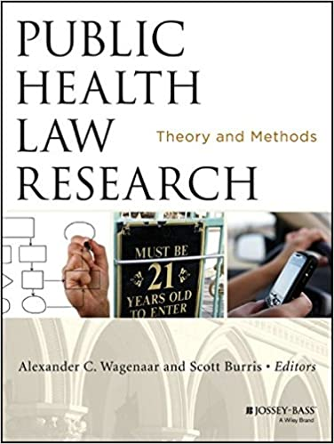 Book Public Health Law Research: Theory and Methods