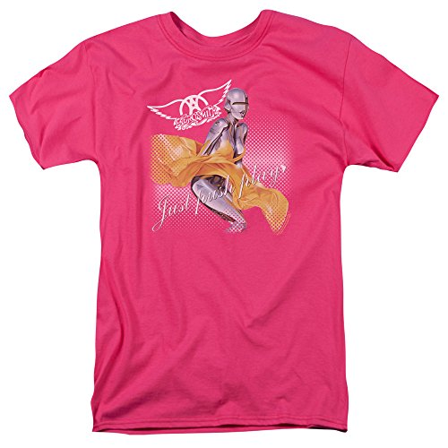 Pink Push Play Just Hombre Camiseta Hot Aerosmith EvYxwqpn5v