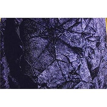 SyFabrics crushed velvet fabric 44 inches wide Navy Blue
