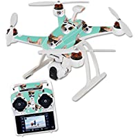 Skin For Blade Chroma Quadcopter – Cool Corgi | MightySkins Protective, Durable, and Unique Vinyl Decal wrap cover | Easy To Apply, Remove, and Change Styles | Made in the USA
