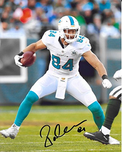 Jordan Cameron, Miami Dolphins, Signed, Autographed, 8x10 Photo, a COA with the Proof Photo of Jordan Signing Will Be Included (Brown Jordan Miami)