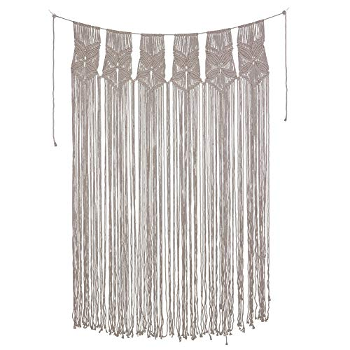 ing Cotton Hanging Tapestry for Home Wedding Wall Door Decor ()