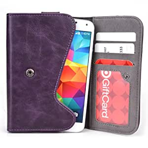 5 Inch Phone Wallet Case with Belt Loop and Credit Card Slots fits Philips W832