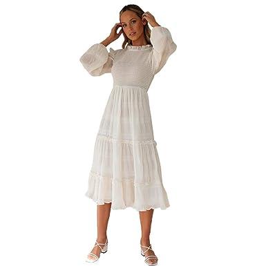 Vestidos Largos Elegantes de Gasa Elegantes para Mujer ...