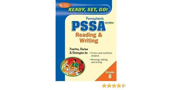Amazon.com: PA PSSA 8th Grade Reading & Writing 2nd Ed ...