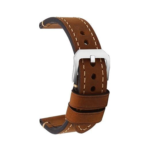 150 opinioni per Cinturino orologio Uomo e donna con cinturino in pelle di alta qualità Cinturino