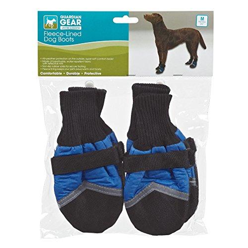 (Guardian Gear Fleece-Lined Boots for Dogs, Medium,)