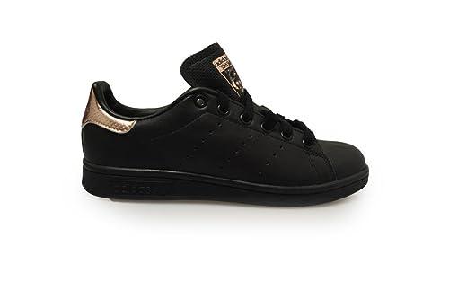 low priced 7eb24 ba37e Adidas Womens - Stan Smith W - Black Copper - BB1433, Black ...