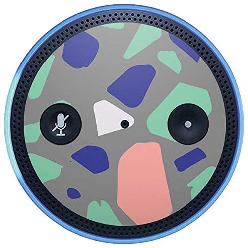 Skinit Speckle Amazon Echo Plus Skin - Cement Terrazzo Design - Ultra Thin, Lightweight Vinyl Decal Protection