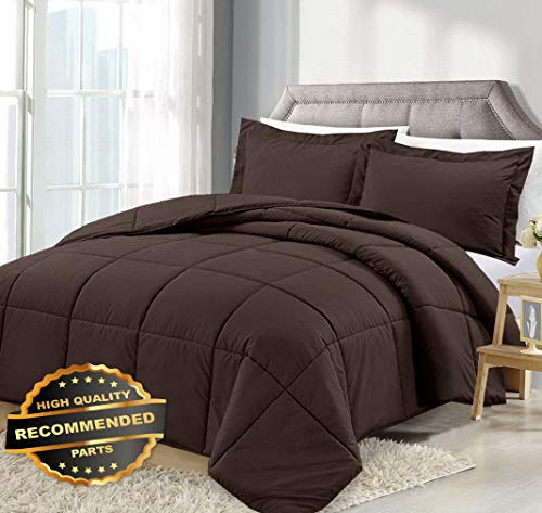Werrox 3 Piece Reversible Down Alternative Comforter Set - Comforter with Shams | Twin Size | Quilt Style QLTR-291265708