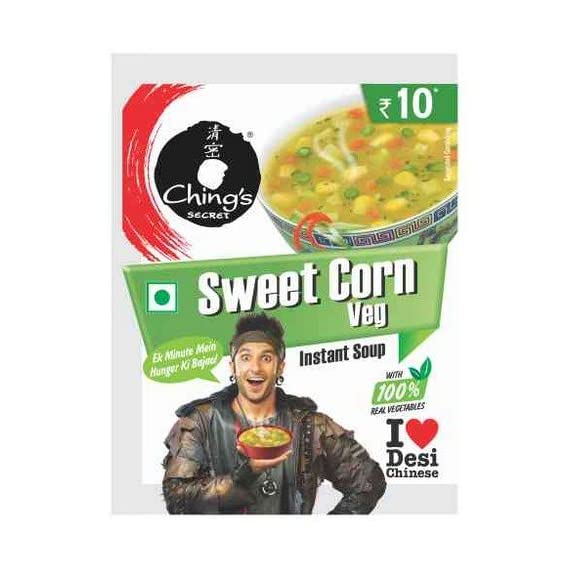 Ching's Secret Sweet Corn Instant (Pack of 20)
