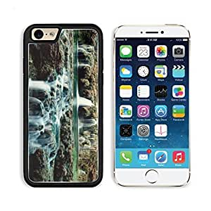 Rock Stream Water Fall Lake For Case Iphone 6 4.7inch Cover PC Snap Cover Premium Aluminium Design Back Plate Case Customized Made to Order Support Ready Liil iPhone_6 Professional Case Touch Accessories Graphic Covers Designed Model Sleeve HD Template Wallpaper Photo Jacket Wifi Luxury Protector Wireless Cellphone Cell Phone