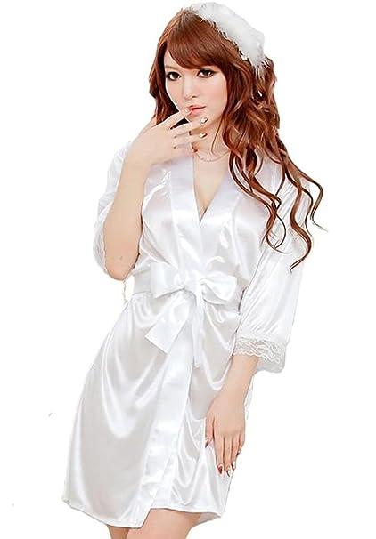 Viskey–vestido sexy de lencería para mujer de sat&eacute