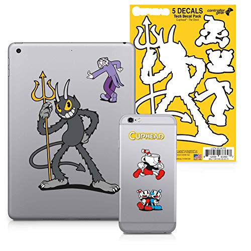 Controller Gear Cuphead – Character Tech Decal Pack – The Devil – Xbox 360; Xbox