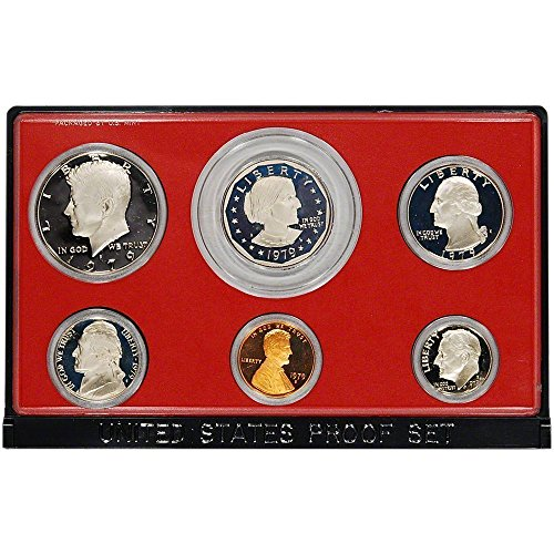 Proof Collection Coin (1979 S US Proof Set Superb Gem Uncirculated)