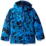 Columbia Boys' Toddler Lightning Lift Jacket, Super Blue Woodsy Camo, 2T