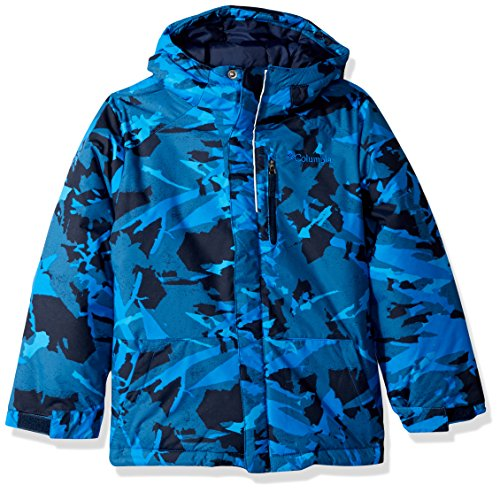 0d8edfd6a Columbia Boys' Toddler Lightning Lift Jacket, Super Blue Woodsy Camo, 2T by  Columbia