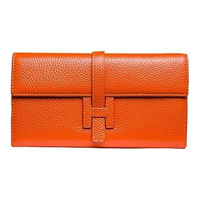 Jonon Women's Genuine Leather Wallets Long Clutch Purses Handbags