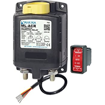 Image of Blue Sea Systems Automatic Charging Relays (ACRs) Accessory Power