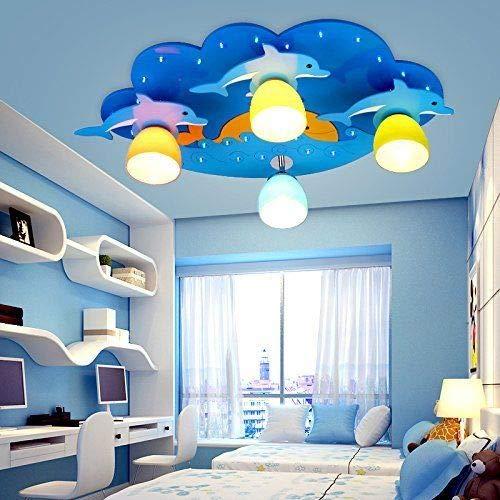 FidgetGear Animal Lighting Chandelier Kids Room Ceiling Lamp Children Pendant Light Fixture Pink Rainbow by FidgetGear (Image #3)
