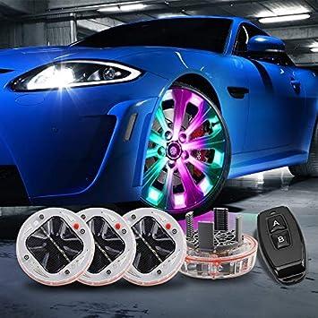 Car//Auto New LED Solar Flash Light Wheel Tyre Tire Lamp Vehicle Decoration Light