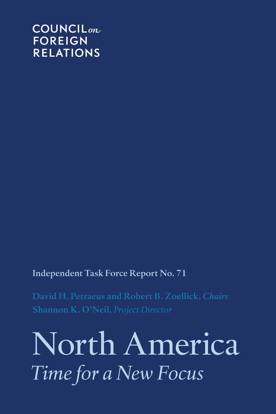 North America: Time for a New Focus (Task Force Report) (Volume 71) pdf