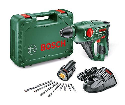 4 opinioni per Bosch Uneo Martello Elettropneumatico, Batteria al Litio 10.8 V