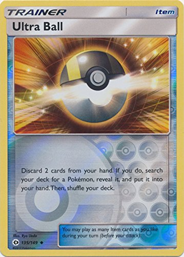 Ultra Ball - 135/149 - Uncommon - Reverse Holo - Pokemon Sun & Moon