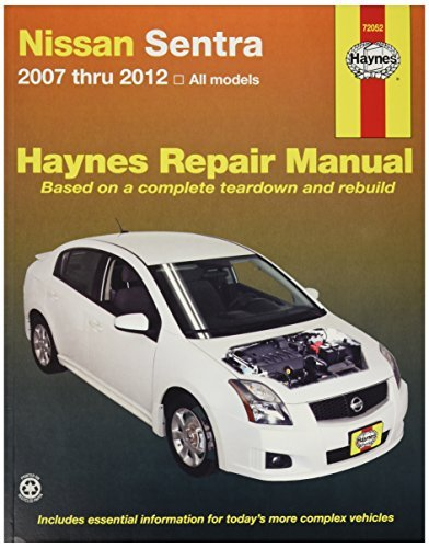 amazon com haynes repair manuals 72052 nissan sentra 07 12 by rh amazon com 97 Nissan Sentra Wiring 97 Nissan Sentra Ignition Diagram