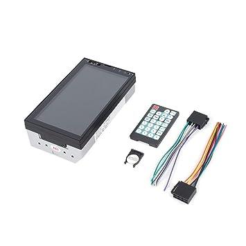 Sunnyday - Radio estéreo para Coche (2 DIN, LCD, GPS, Multimedia ...