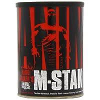 Animal M-Stak - Apiladores de construcción muscular no hormonales de ganancia dura con complejo de energía - 21 unidades