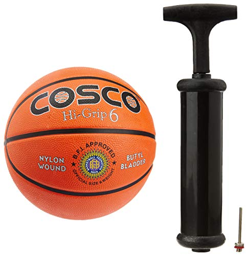 Cosco Hi-Grip Basket Balls, Size 6 (Orange) Price & Reviews