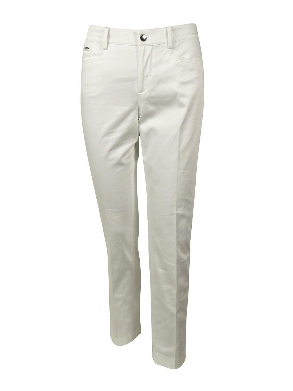 Lauren Ralph Lauren White Slimming Pant