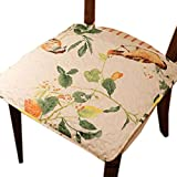 Indoor/Outdoor Soft Home/Office Squared Seat Breathable Chair Cushion Flower, Warrior Dance