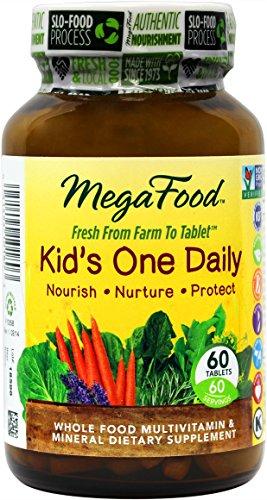 MegaFood ENFANTS Un comprimés par jour, 60 Count