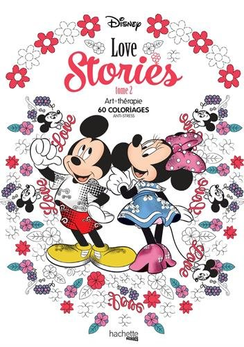 Disney Love Stories Tome 2 60 Coloriages Anti Stress Amazoncouk