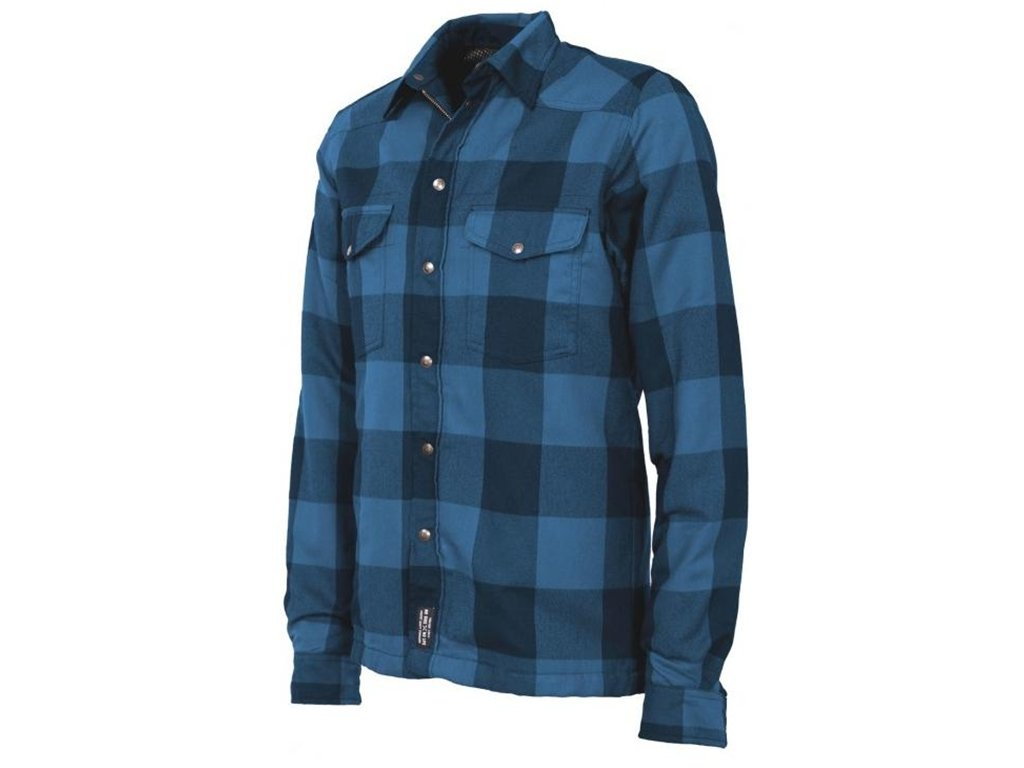John Doe Hemd Lumberjack Kevlar Shirt Blue-M