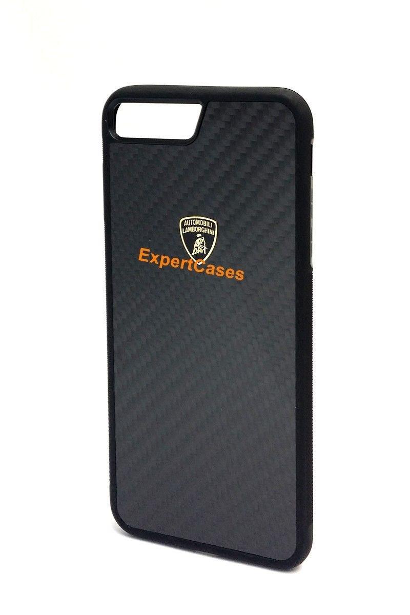 the latest e0d68 12cf9 Automobili Lamborghini Elemento D3 Genuine Carbon Fiber Back Case for  iPhone 7 Plus/iPhone 8 Plus (Black)