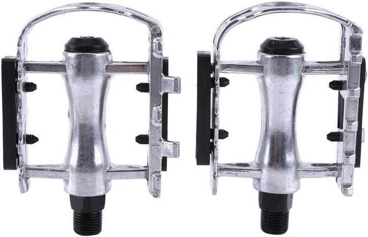 Aluminiumlegierung 1/Paar Fahrrad-Pedale Plattform-Pedale f/ür MTB und Rennrad