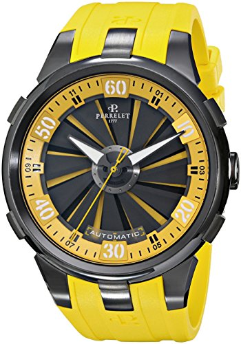 Perrelet-Mens-A10517-Turbine-XL-Analog-Display-Swiss-Automatic-Yellow-Watch