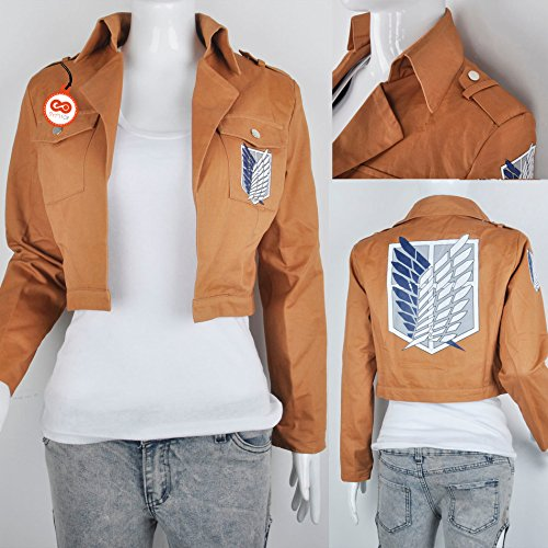Attack Cachi On Jacket Symtop Legion Titan Fashion Costumes Kyojin No Scouting Shingeki OqZP5Ew