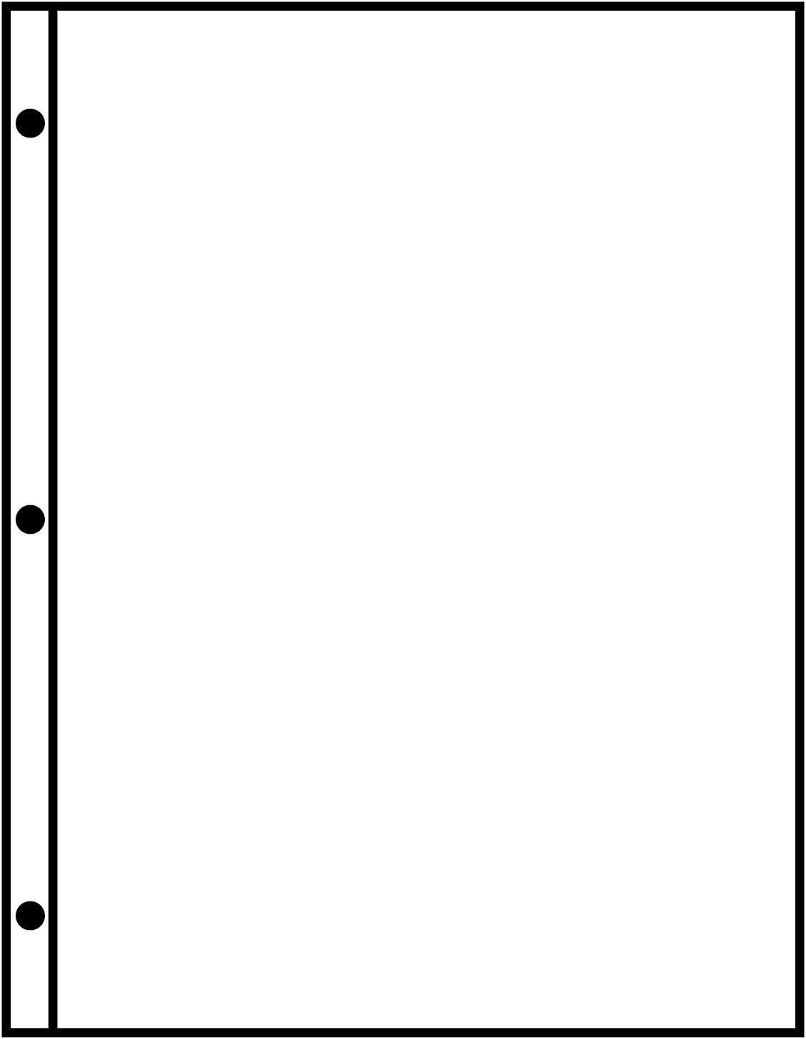 DocuCopy 7593 Reinforced Premium Multipurpose Copy Paper 24lb 8.5 x 11 3 Holes 1 Ream//500 Sheets