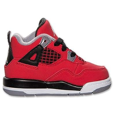 size 40 613d0 70c95 NIKE Air Jordan 4 Retro (TD) Toddlers Kids Basketball Shoes 308500-603 (